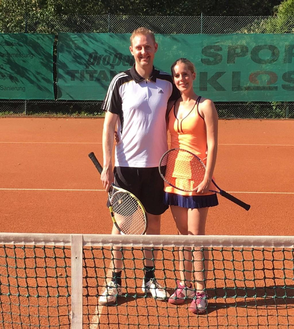 Stefan Ruppert und Daniela Dombach Vereinsmeister Mixed