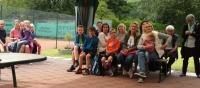 PSV Tenniscamp 2016 Gäste bei der Siegerehrung