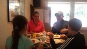 PSV Tenniscamp 2016 das Essen schmeckt