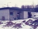 Das Clubhaus wird gebaut